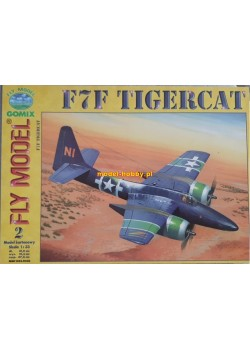 "FLY MODEL (002) - F7F ""Tigercat"""