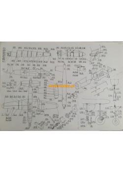 "FLY MODEL (007) - B-25 H ""Mitchell"""