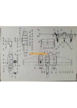 """FLY MODEL (013) - P-61 """"Black Widow"""""""