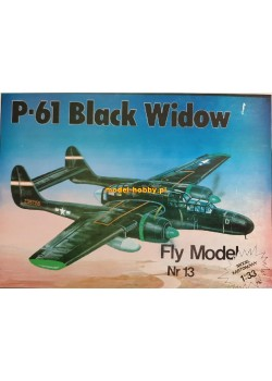 "FLY MODEL (013) - P-61 ""Black Widow"""
