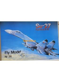 FLY MODEL (038) - Su-27 FLANKER B