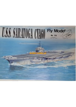 FLY MODEL (072) - USS Saratoga (CVA60)