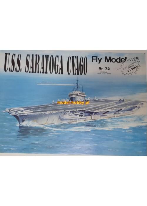 FLY MODEL (072) - USS Saratoga (CVA60)