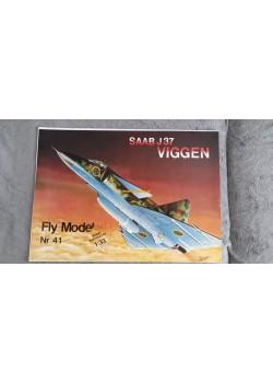 """FLY MODEL (041) - Saab J-37 """"VIGGEN"""""""