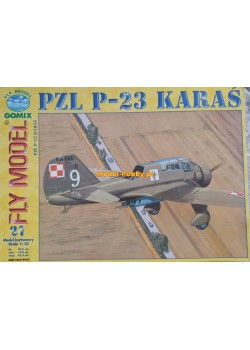 "FLY MODEL (027) - PZL P-23 ""Karaś"""