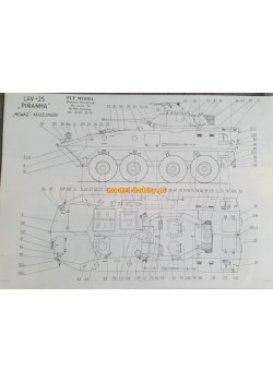 "FLY MODEL (073) - LAV 25 TVA ""Piranha II"""