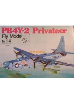 """FLY MODEL (014) - PB4Y-2 """"Privateer"""""""