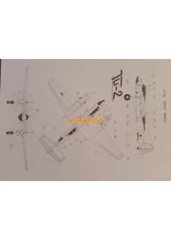 FLY MODEL (029) -Tu-2
