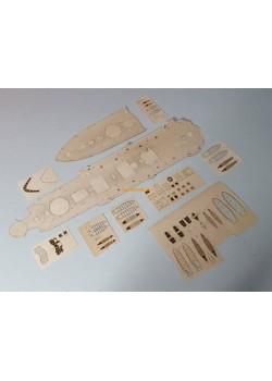 Pobieda  - wooden and engraven deck (AVANGARD)