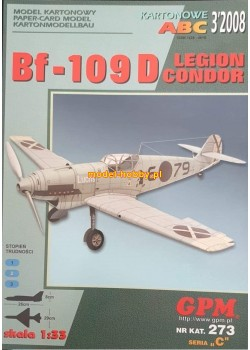 """Messerschmitt Bf 109 D """"LEGION CONDOR"""""""