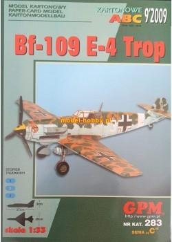 Messerschmitt Bf-109 E-4 Trop