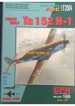 Focke Wulf  Ta-152 H-1