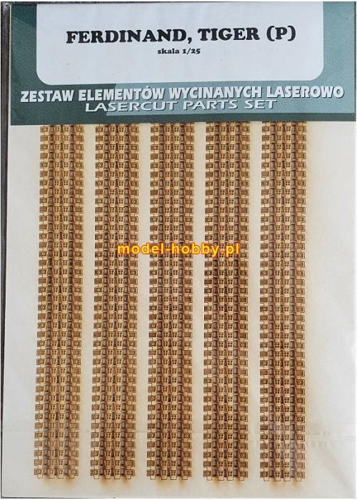 PzKpfw VI Tiger P / Elephant / Ferdinand  - laser tracks