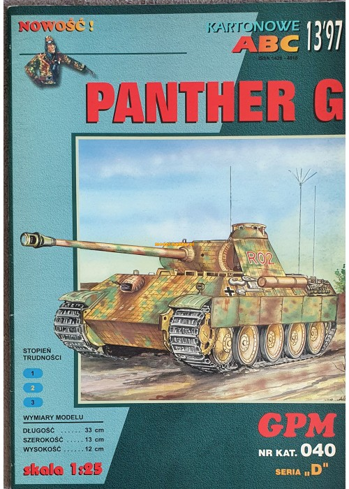 PzKpfw V Ausf. G  Panther