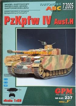PzKpfw IV Ausf. H