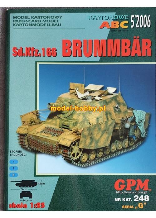 Sd.Kfz 166  Sturmpanzer IV Brummbär