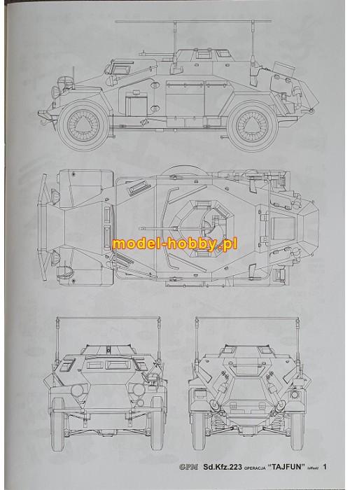 Sd.Kfz 223 - TAIFUN OPERATION