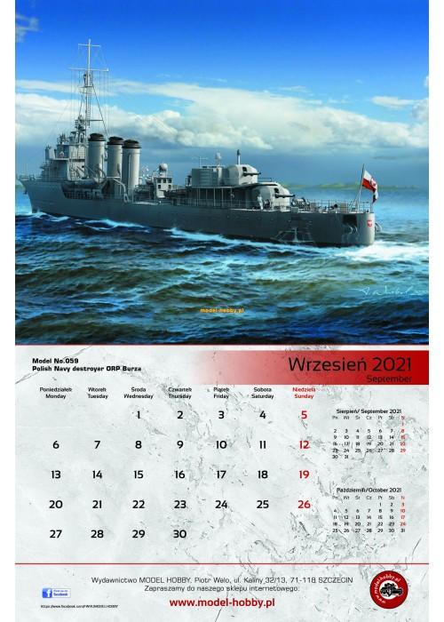 Calendar 2021 (WHITE)