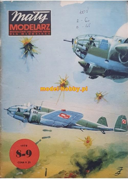 """1978/8-9 - PZL P-37 """"ŁOŚ"""""""