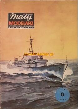 1979/6 - Okręt wojenny klasy trałowiec