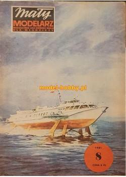 "1981/8 - Wodolot typu KOMETA - ""PORYW"""