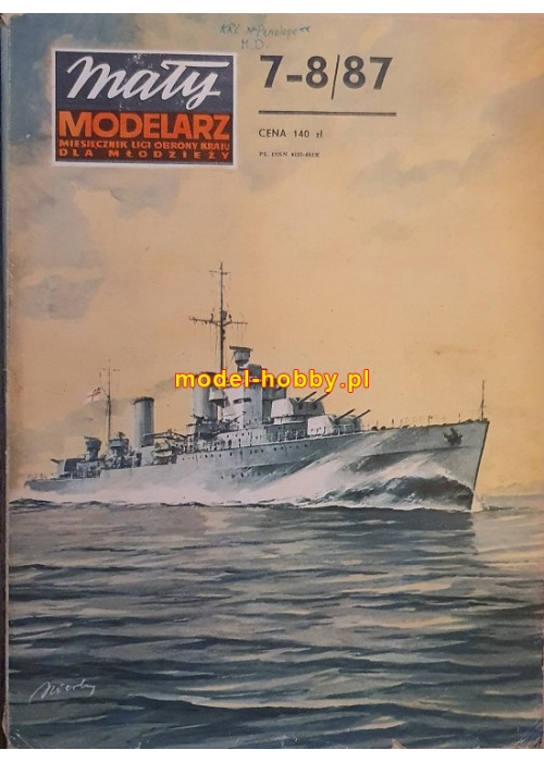 1987/7-8 - HMS Penelope