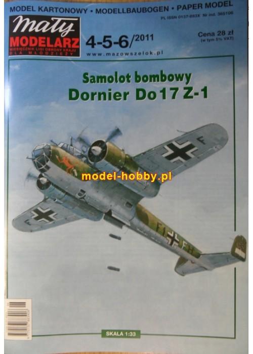 2011/4-5-6 - Dornier Do-17 Z1 + laser frames