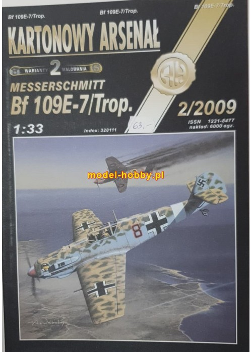 Messerschmitt Bf-109 E-7 Trop