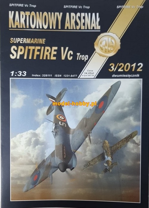 Supermarine Spitfire Vc Trop