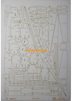 Yakovlev Yak-9m - laser frames