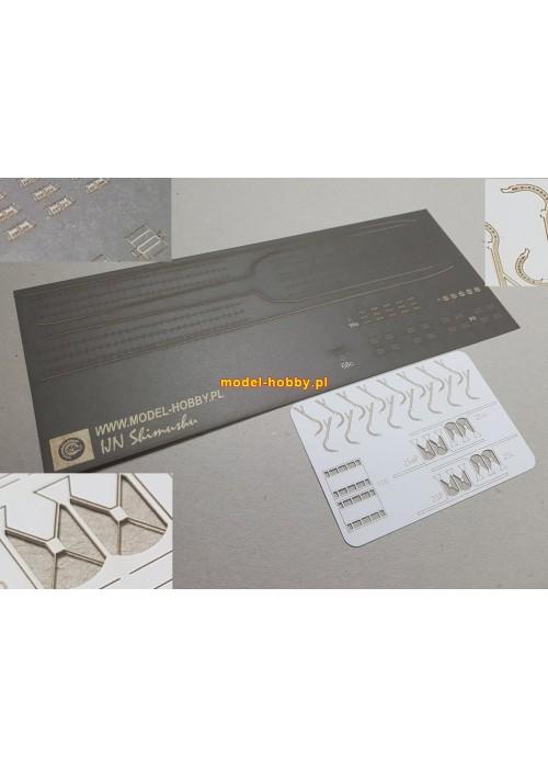 IJN Shimushu set of laser cut details (No.2)