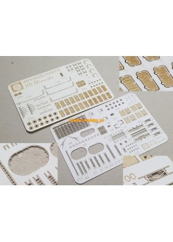 IJN Shimushu - set of laser cut details (No.1)