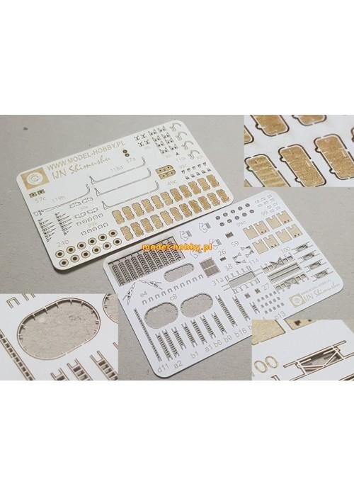 IJN Shimushu set of laser cut details (No.1)