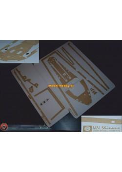 IJN Shinano - engraved decks No.1