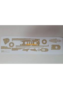 IJN Uranami - engraved decks