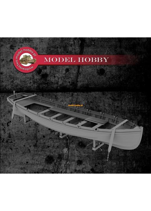 Japanese fleet - 9 meter rowing boat - open - (1 pcs)
