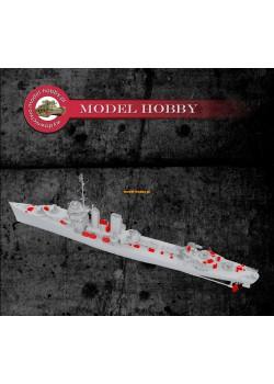 USS Farragut - set of deck equipment details - resin (1 set)