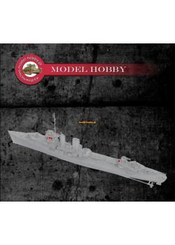 USS Farragut -set of wheelhouse equipment details and optics - resin (1 set)