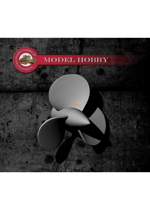 Ship propellers - destroyers type 1936A (Mob)  (2 pcs)
