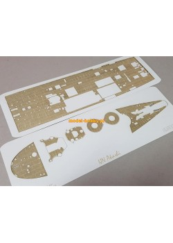 IJN Akashi - engraved decks