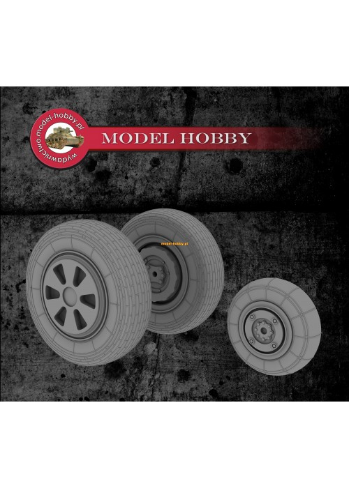 Mikoyan MiG-21 PF/PFS/PFM/FL/M/MF/MFN/SM/R - resin wheels