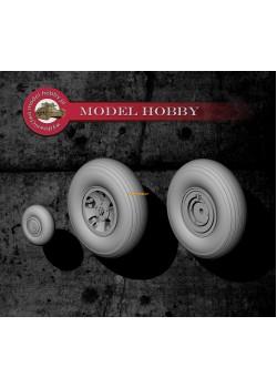 Supermarine Spitfire Mk. I - resin wheels