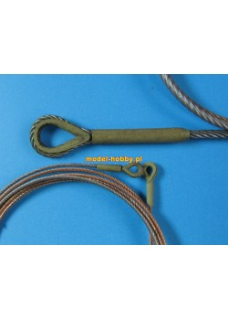 """Towing cable for Pz.Kpfw V """"Panther""""  (3 pcs)"""