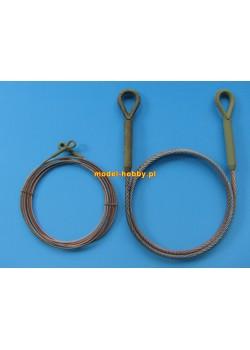 "Towing cable for Pz.Kpfw VI ""Tiger""  (3 pcs)"