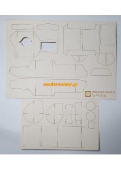 Typ 97 Chi-ha  - laser frames