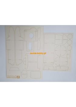 Typ 97 Shinhoto Chi-ha - laser frames