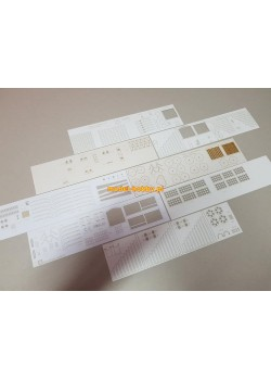 Selbstfahrlafette auf Fahrgestell VOMAG 7 oder 660 - set of laser cut details
