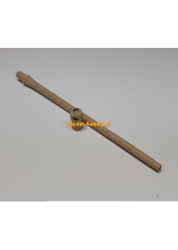 Barrel - 17 pdr OQF (British guns, tanks and tank destroyers) - wood