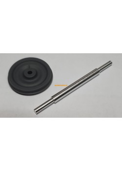 SSyms 80 (t) - resin wheels and metal axles