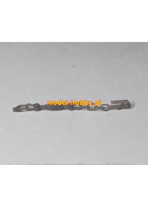 Anchor chain stopper (4 pcs) - Ship chain (D-1.90 x L-2.60 mm) - 20 cm (resin)